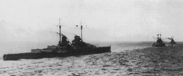 Battlecruisers Enroute to Dogger Bank